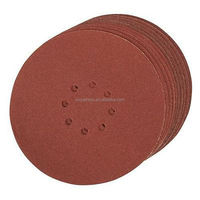 hook and loop aluminum oxide sand paper disc
