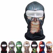 2017 Outdoor full face cycling mask fishing mask custom printed face ski mask