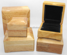 High quality Oak jewelry box bracelet cheap wood jewelry boxes ring case