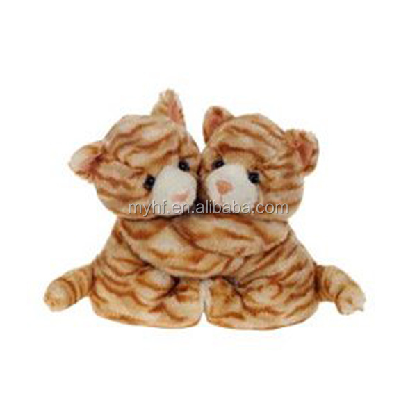 Kids Best Friends Orange Tabby Cats 8inch plush cat hug toys