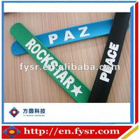 Fashion Accessories Silicone Slap Bracelet Made