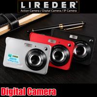 2.7'' TFT LCD HD 720P 18MP Digital Camera 8x Digital Zoom Anti-shake Camera