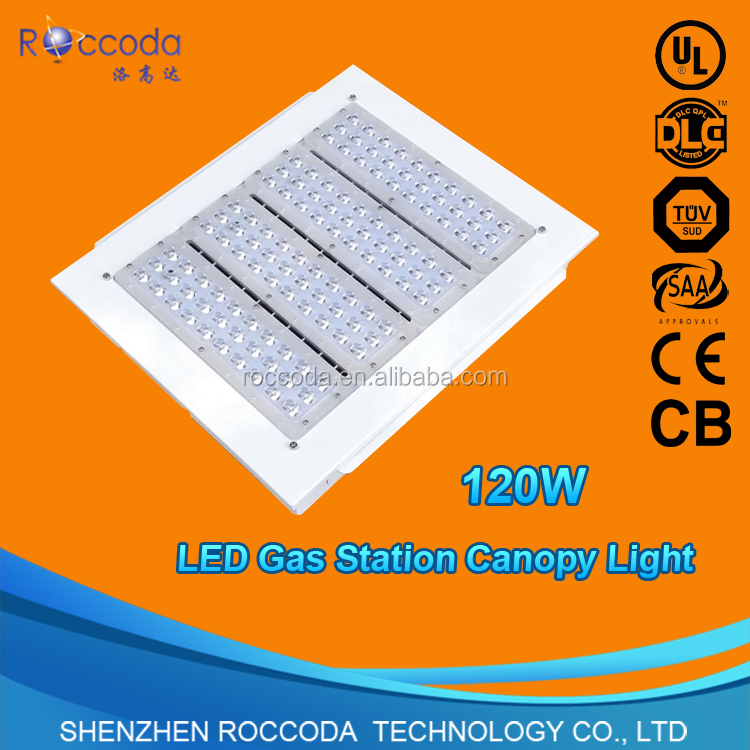 saa ce 100w 120w 150w 200w gas station led canopy lights, led gas station light