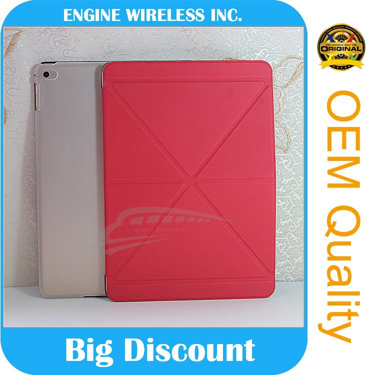 china low price products for ipad air 2 leather case