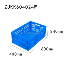 stackable and Foldable plastic Moving storage cages/crates/boxes