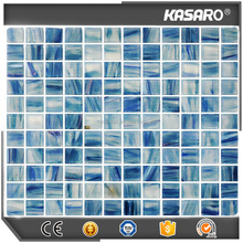 Swimming pool glass mosaic, Crystal glass mosaic tile, Mosaic glass KSL-DP1223