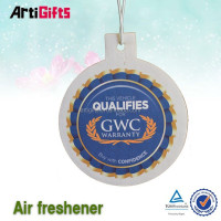 Cheap custom good smell paper car air freshener
