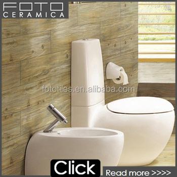 Brazil wood non slip bathroom floor tile design buy for Carrelage 30x30 beige