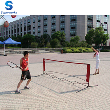 adjustable table portable tennis net kids mini badminton and tennis net