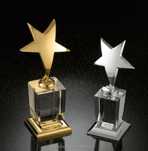 Wholesale custom gold award metal trophy