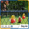 China Supplier 2.7mm 3mm wire 5 foot cyclone wire mesh PVC coated chain link fence weight for garden