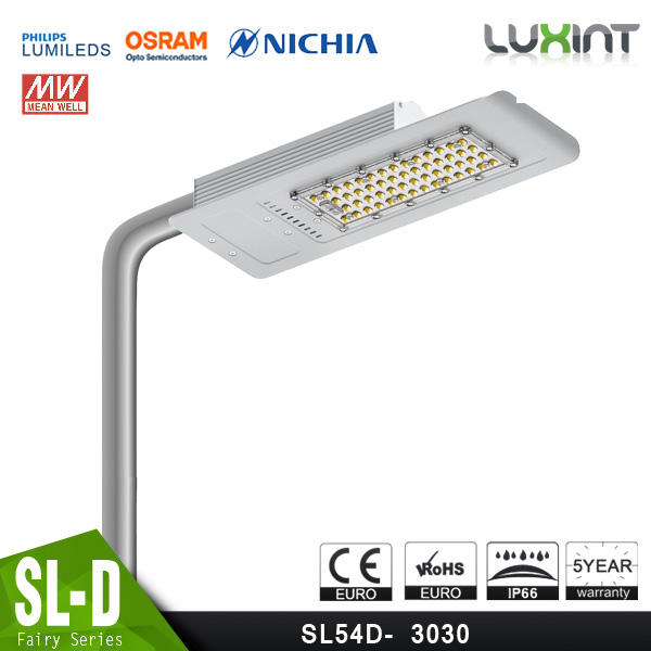 2016 Newest Design Meanwell Driver 125 lm/W 50W-300W CE RoSH UL Approved Street Light With Irresistable Price