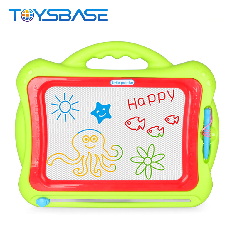 Big Size Colorful 2 In 1 Kids Drawing Toys Erasable Foldable Magnetic Board