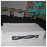 3 speed ceilng concealed fan coil unit,water system fan coil for industrail cooling