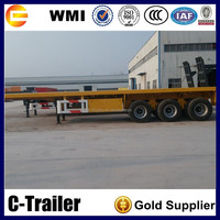 2016 hot sale container flatbed truck dimensions