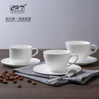 Luxury chinese porcelain tea set coffee set for hotels and resorts