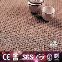 Plain Single Color Room Floor Textiles China Tufted Wool Carpet