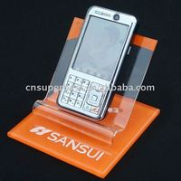 Acrylic mobile display with beautiful look for mobile store