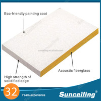wholesale Soundproofing vinyl faced gypsum ceiling tile