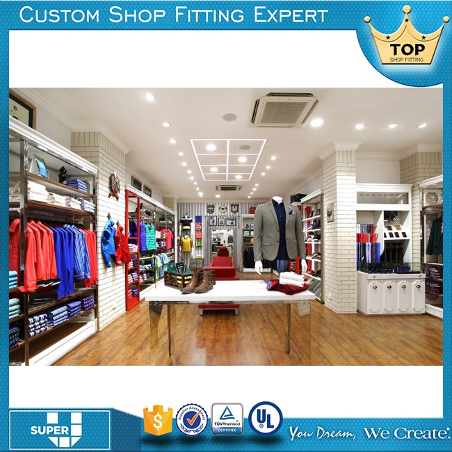 Premier Quality Factory Direct Selling Furniture Men Clothing Shop Counter