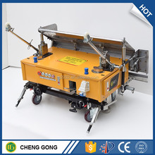 High Quality Mortar Cement Plaster Machine For Wall Building Rendering 220V380V Aluminium Alloy