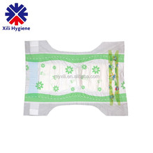 Wholesale custom high absorbency baby diapers disposable