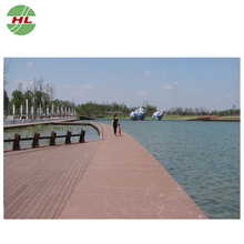 Solid boat decking material waterproof outdoor floor covering