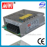 MiWi S-25-24 universal Switching 25w 24V 1.1A Power Supply,electronics, led output switch