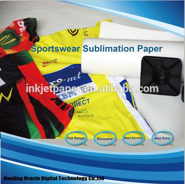 100g fast dry sublimation paper roll for inkjet printer