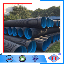 China manufacturer Skilled technology corrugated yellow drain pipe