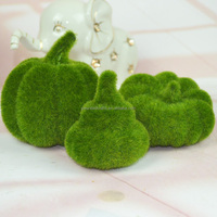 High artificial plant moss pumpkin halloween decoration photography mold
