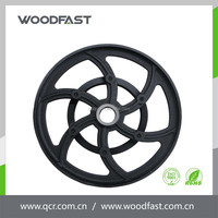 Hot selling best quality die casting cast iron cart wheel