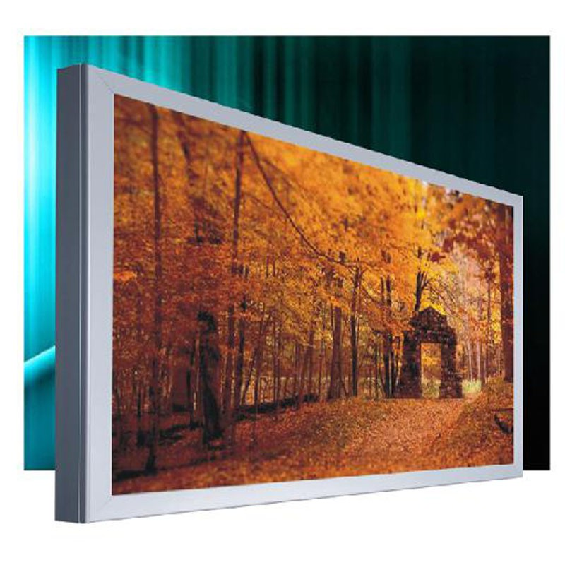 New design long lifespan silicone edge graphic frame fabric light box fo trade show displays