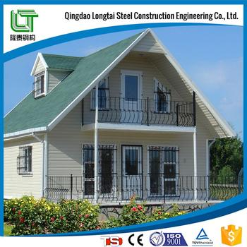 light steel villa with popular home styles