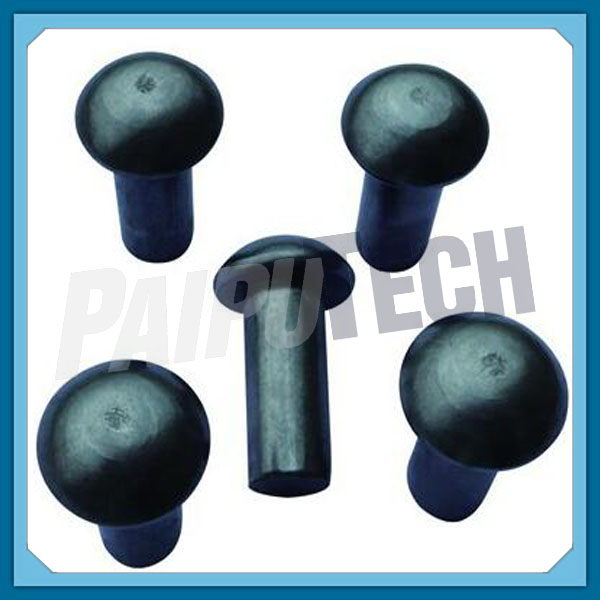 Black Oxide DIN 6791 Semitubular Pan Head Rivet