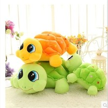 2017 Custom shaped PP cotton soft creative gift colorful lovely plush turtle toy