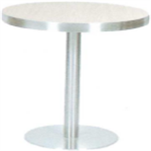 high quality cheap modern restaurant table hotel round dining table with stainless steel table legs