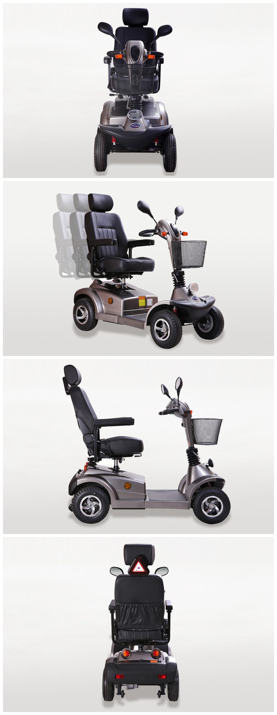 Electric Mobility Scooter for over 180KG People Outdoor Trip
