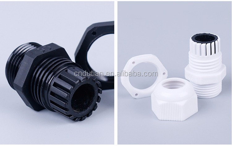 IP68 waterproof plastic nylon PG13.5 m20 cable gland