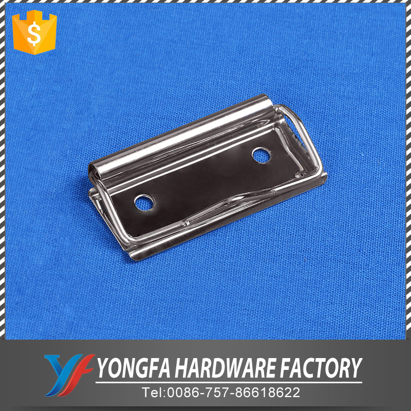 Office stationery hardware 3/4 inches stainless steel folder wire metal board clip