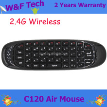with IR learning function C120 universal remote control with fly air mouse