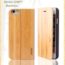2016 bestsellings wooden phone book case with pc and leather for iphone5/6/7/6plus/7plus/samsung case