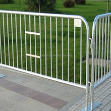 pvc coated temporary fence/Hot Sale Outdoor Temporary Fence/Pedestrian Barrier best security fencing mobile with fencing panels