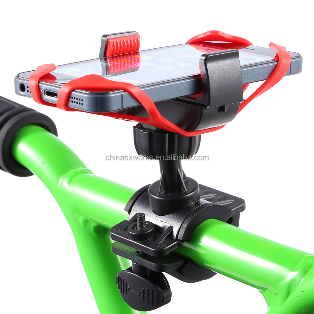 2016 Portable Bicycle Stand Mount Mobile Phone Bike Holder For Outdoor F0097