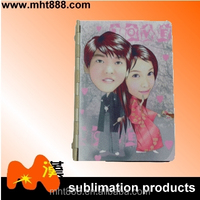 Sublimation blanks address books I07-1sublimation metal note book