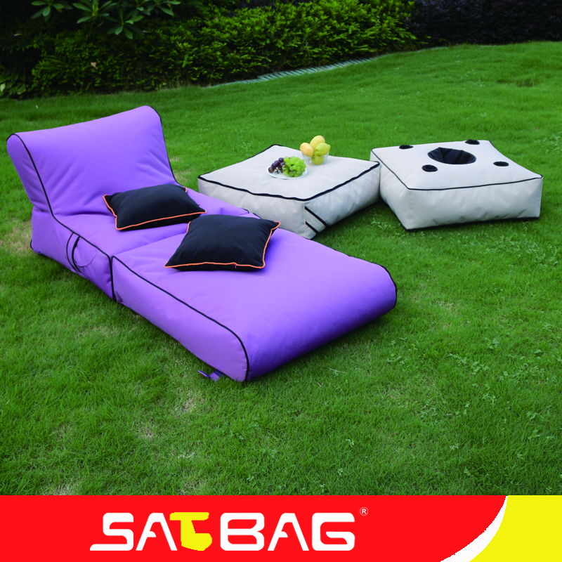 Waterproof outdoor beach bean bag folding beanbag chair