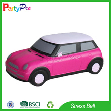 Partypro Zhejiang Ningbo Factory Promotional ECO Friendly PU Foam Stress Reliver Car Shape Stress Ball