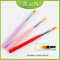 2017 BQAN Improved Wood Handle Gradient Ombre Brush UV Gel Painting Pen Manicure Nail Art Tool