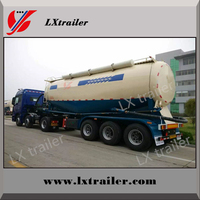 Hot Sale! Bulk cement silo truck / Cement bulk tanker semi trailer for Pakistan