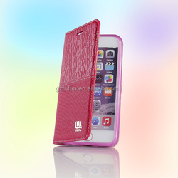 Beautiful full body protective flip mobile phone case 4.7 inch